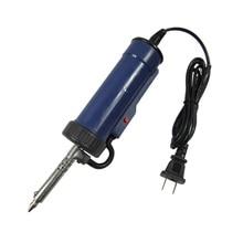 30W 220V 50Hz Elektrische Vakuum Solder Sucker Elektrische Entlötpumpe Eisen Werkzeug Uns Stecker