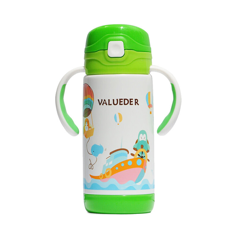 Micro For Shoot Wei Lun Seoul Children Insulated Cup Water Bottle Belt Straw Men And Women Kindergarten Students Stainless Steel