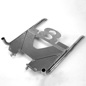 1/14 Rc Truck Scania V8 Exhaust Chimney For Tamiya Tractor R620 R470 56323 And Other Models DIY