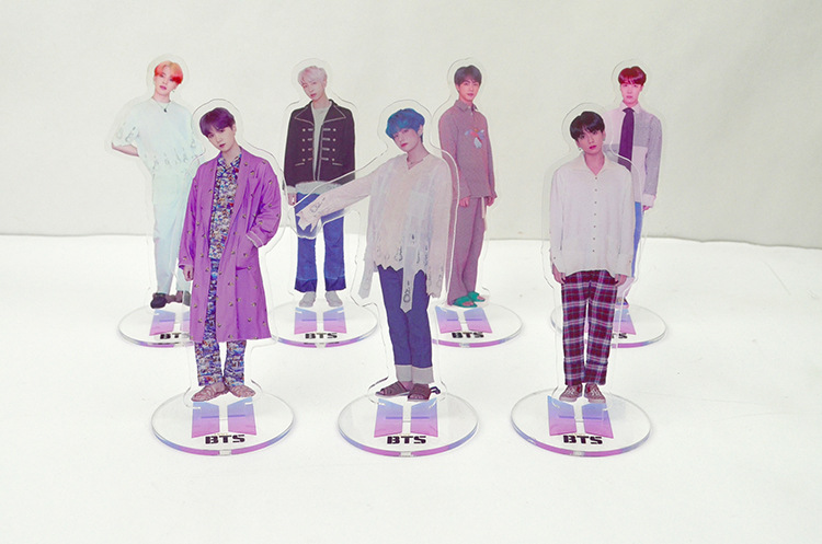 Korean Star Kim Nam Jun Jin J-HOPE Min Yun Ki  Jimin Kim Tae Hyung Jung Kook Acrylic Stand Model Action Figure Toy Gift