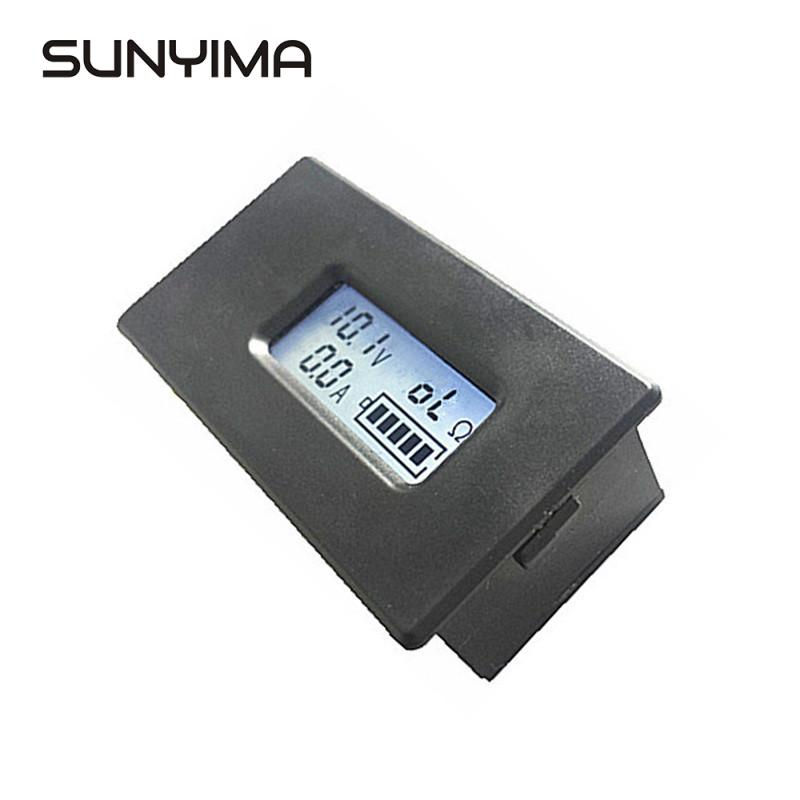 18650 LCD Display Lithium Li-ion Battery Tester Meter Voltage Current Capacity K