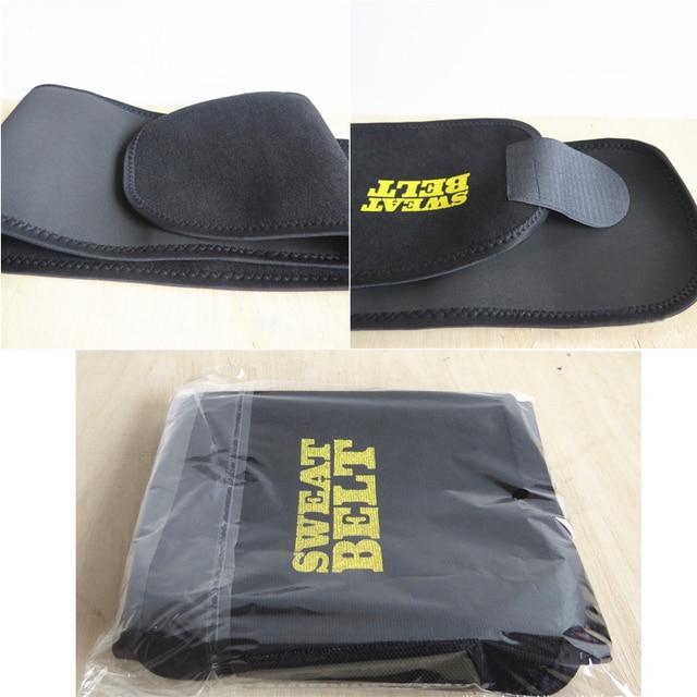 Women Men Sweat Body Suit Sweat Belt Shaper Premium Waist Trimmer Belt Waist Trainer Corset Shapewear Slimming Vest Underbust 5