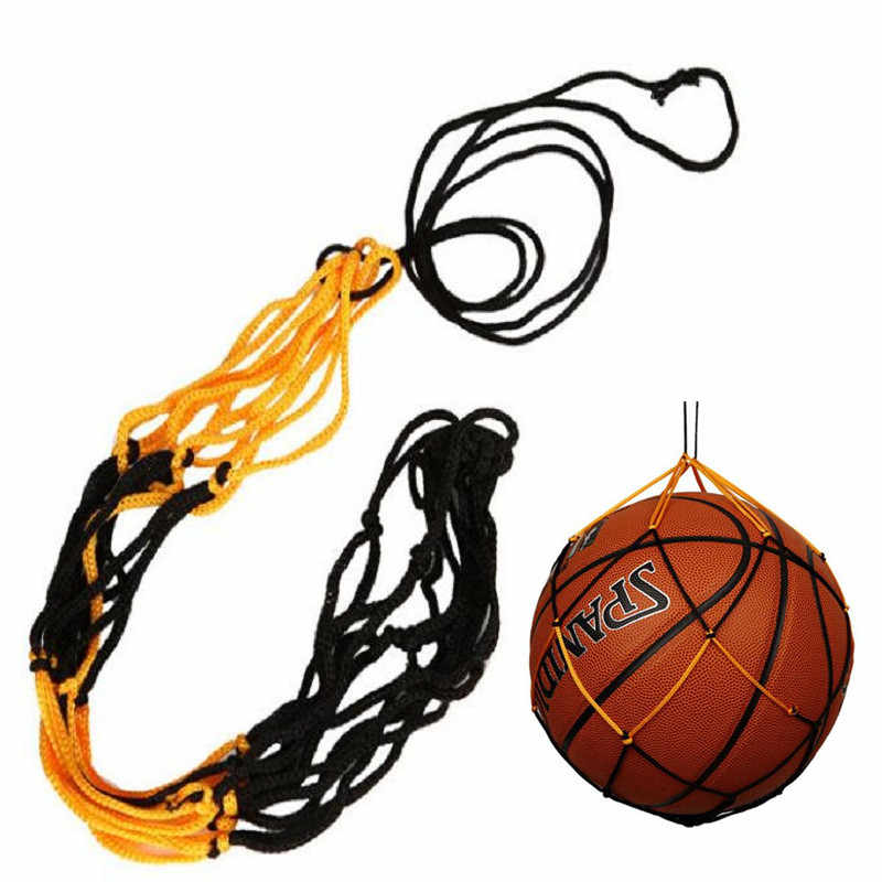 Filet en Nylon sac balle transporter maille volley-Ball basket-ball Football pour ballon de football basket-Ball volley-ball Football ou toutes les balles A301030