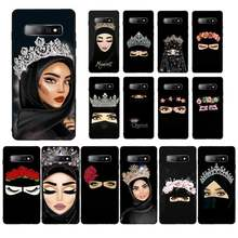 YNDFCNB Muslim Islamic Arabic Gril Eyes Koran Phone Case for Samsung S5 6 7 edge 8 9 10 20 plus lite case(China)