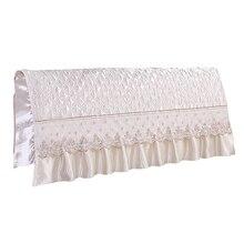 Style européen soie like chambre lit tête de lit housse de protection lit Beige