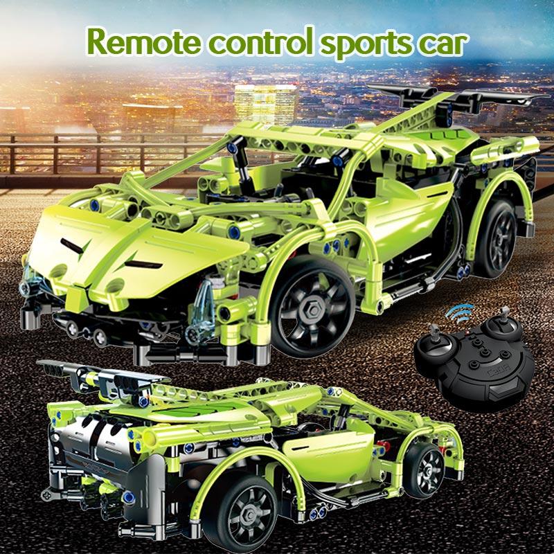 Cada C51018W RC Green Sports Racing Cars
