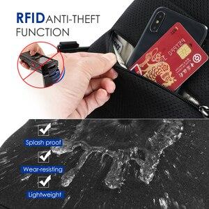 Image 3 - 2020 nowy Tigernu RFID z zabezpieczeniem przeciw kradzieży torba na klatkę piersiowa s wodoodporna mężczyźni lekka torba na klatkę piersiowa moda wysokiej jakości zamki błyskawiczne