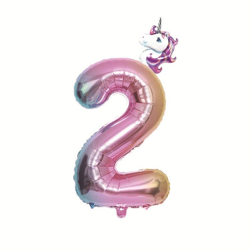 not Helium balloon Folienballons Zahlen Baby Rosa Geburtstags Geschenk Pink NEU