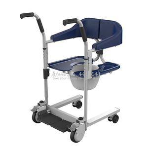 Image 2 - Multifunctional Elderly Care Wheelchair Stable Stroller Chair Patient Movement Machine Toilet Bath Chairs Bearing 120kg