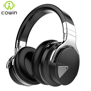 Cowin E7[Upgraded] ANC Bluetooth Headphones Active Noise Cancelling Wireless Headset Hifi Deep Bass Earphones with Microphone