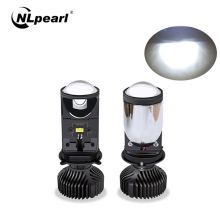 NLpearl Car Headlight Bulbs 20000LM H4 LED Canbus Projector Lens Automobles Conversion Kit Hi/Lo Beam Headlight 12V/24V RHD LHD