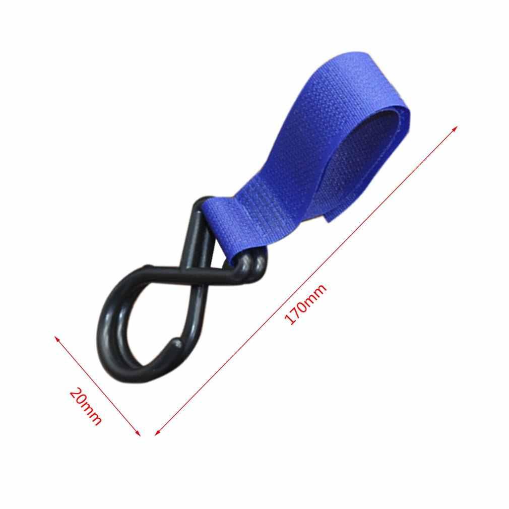 Baby Stroller Hook Cart Accessory Hook Hanging Armrest Hook Trunk Nylon Pram Pushchair Hanger Trolley Accessories Buckle Holder