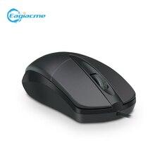Игровая/Офисная проводная usb мышь eagiacme с 3 кнопками эргономичная