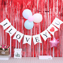 Letter Mary Me Expresses Marriage and Surprise Props I Love You Banner Party Background Birthday Party Decorations Adult love and marriage