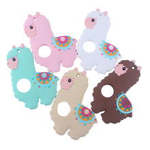 2019 New Cartoon Animal Teether Toy BPA Free Silicone Teething Products for