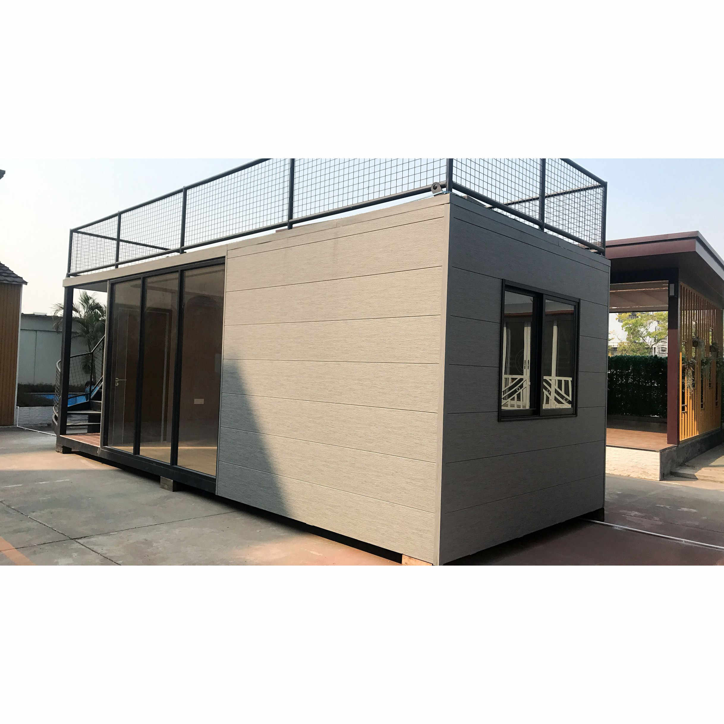 Portable Multi Use Prefabricated Steel Frame Container House Modular Container Home With Interior Decoration Furniture Frames Aliexpress