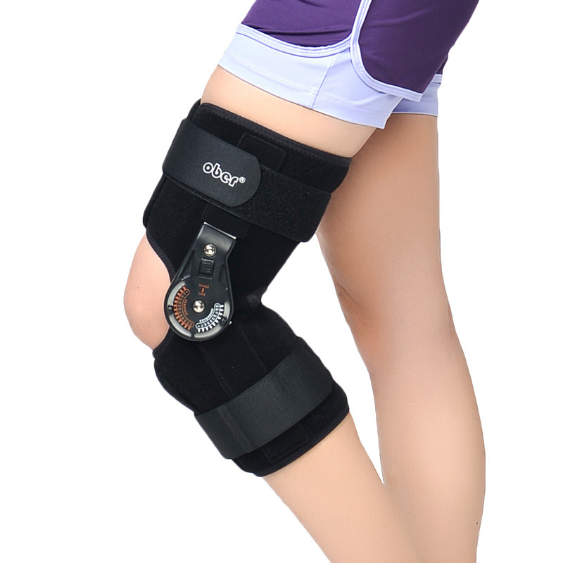 Adjustable Knee Brace Fixation Bracket Fracture Fixation Rehabilitation Knee Orthosis Support Osteoarthritis Knee Pain Pads