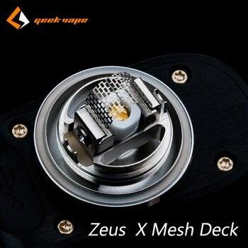 Original Geekvape Zeus X Mesh Deck Mesh Version Electronic Cigarette Accessory Vape Deck For Zeus X Mesh RTA