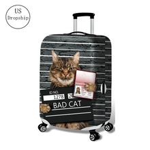 New Suitcase Elastic Dust Cover Luggage Case For 18~32 Inch Password Box Trolley Case High Quality Protective Cover Sets july s song new suitcase elastic dust cover luggage case for 18 32 inch password box trolley case cat pattern protective cover