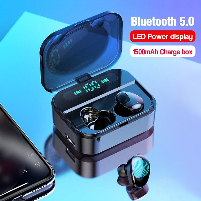 Arlado X7 TWS True Wireless Ultra Mini Bluetooth Earphone Sport Earbuds Twins Stereo Microphone Headset Earpiece for Smartphone