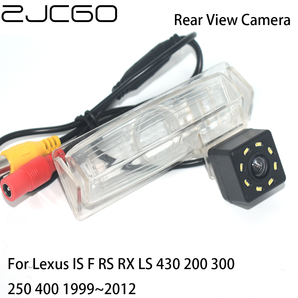 ZJCGO Car Rear View Reverse Back Up Parking Waterproof Night Vision Camera for Lexus IS F RS RX LS 430 200 300 250 400 1999~2012 image