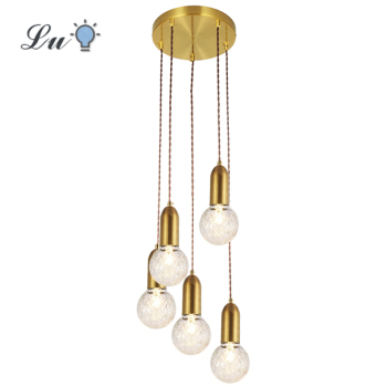LED Pendant Lights Vintage Loft Style Hanging Lamp Glass Light Nordic Modern Suspension Kitchen Restaurant Lighting Fixtures G9 fumat stained glass pendant lamp antique style baroque glass body flower shade restaurant suspension lampe hotel project lights