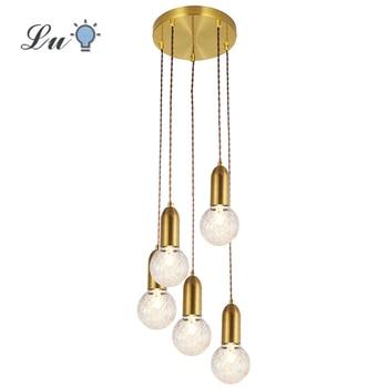 LED Pendant Lights Vintage Loft Style Hanging Lamp Glass Light Nordic Modern Suspension Kitchen Restaurant Lighting Fixtures G9 цена 2017