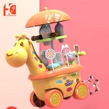 Детские игрушки для мороженого девочек детские конфеты с жирафом