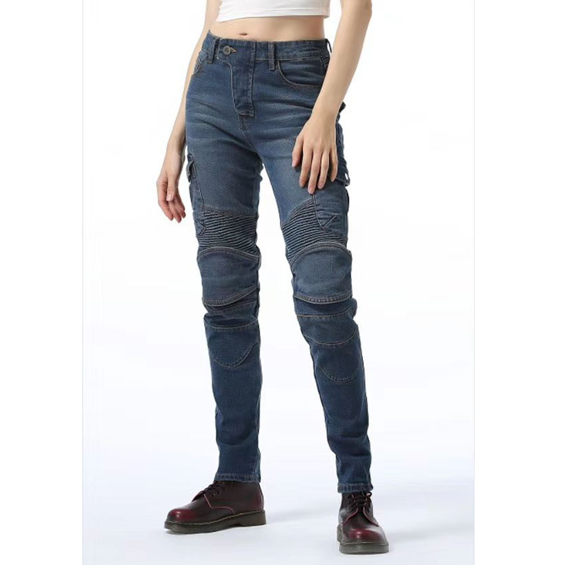 Konime Same Ugb Motorcycle Jeans Riding On The Road Jeans Off-road Outdoor Pants With Protective For Women
