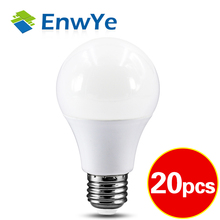 20pcs LED 3W 6W 9W 12W 15W 18W 20W 24W 220V E27 LED Bulb Lamp Smart IC Real Power Cold White/Warm White Lamp