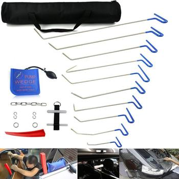Topnew PDR RODS PAINTLESS DENT REPAIR TOOL SET REMOVAL OF DENTS AND DOOR DING WITH RODS  HOOK CAR AUTO BODY DENT REMOVAL