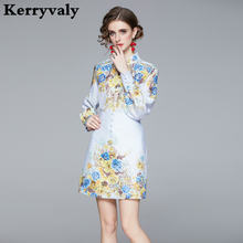 Новый женский комплект 2 шт в стиле ретро с цветочным принтом