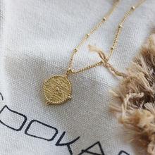 Amaiyllis 18k золотое винтажное римское искусственное колесо