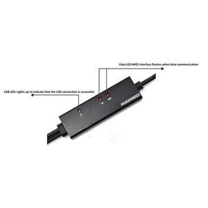 Профессиональное аудио оборудование Creator Line Music Editor шнур PC To Music Keyboard конвертер IN-OUT интерфейс MIDI To USB кабель