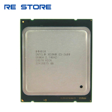 Intel Xeon E5 2680 Processor 2.7GHz 20M Cache 8 GT/s LGA 2011 SROKH C2 E5 2680 CPU 100% normal work