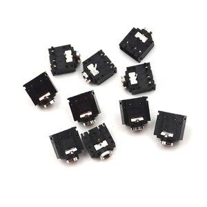 10 шт. 5 Pin 3,5 мм стерео разъем аудио разъем PCB PJ-307