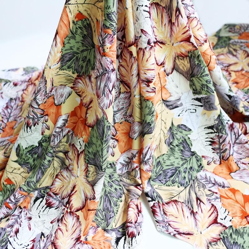 100 см * 140 см Винтаж платье тканевый лист дизайн вискозная вискоза Материал Ткань      АлиЭкспресс