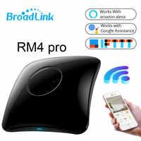 2020 plus récent Broadlink RM4 Pro domotique intelligente WIFI + IR + RF + 4G télécommande intelligente pour iOS Android xiaomi téléphone
