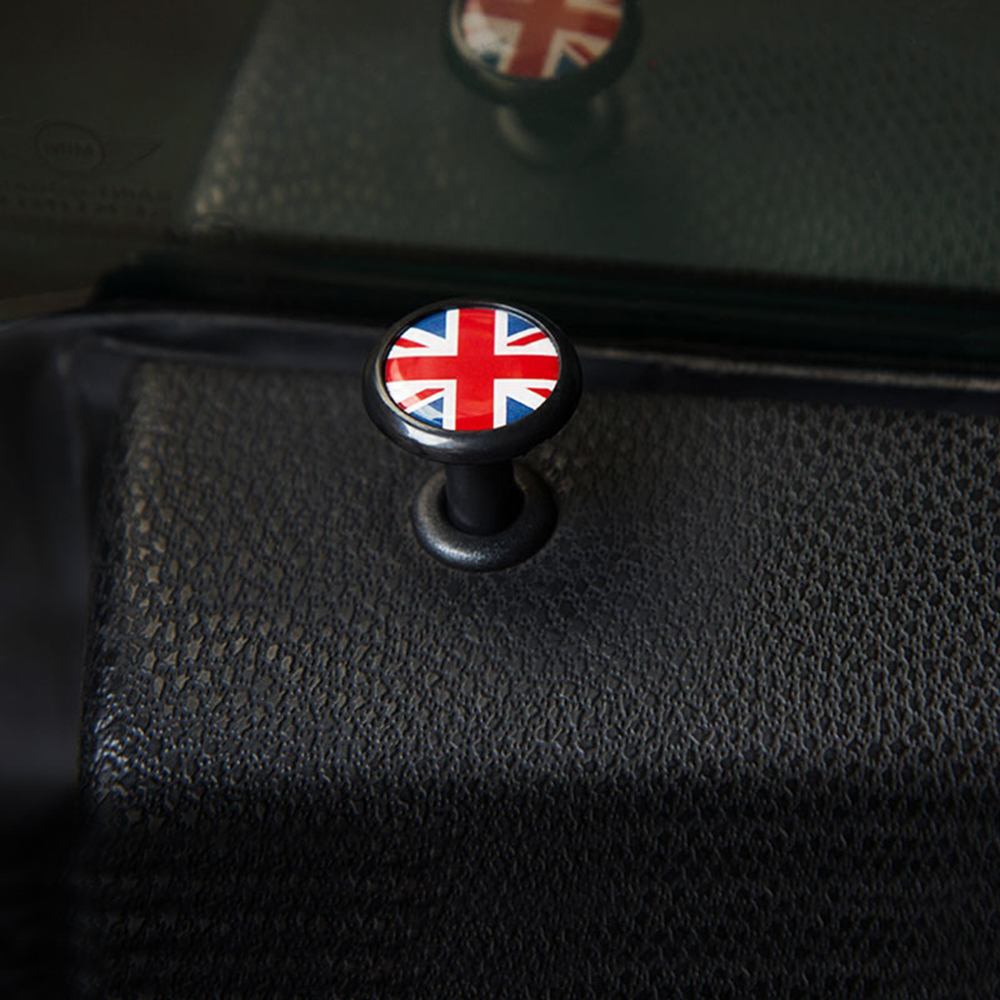 2pcs Car Window Door Lock Pin Cover Sticker For Mini Cooper JCW S One R55 R56 R60 R61 F54 F55 F56 F60 Countryman Car Accessories