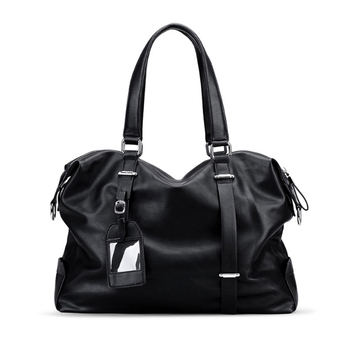 Men Travel Shoulder Bag Fashion PU Big Travel Handbag Folding Trip Bag Large Luggage Travel Duffle Bag Men Business Handbag B170
