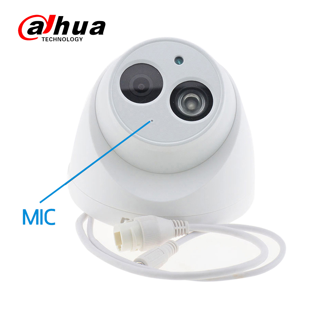 Image 2 - Wholesale Dahua IPC HDW4433C A 4PCS POE Network Mini Dome Camera With Built in Micro 4MP CCTV Camera 4pcs/Lot For CCTV System-in Surveillance Cameras from Security & Protection