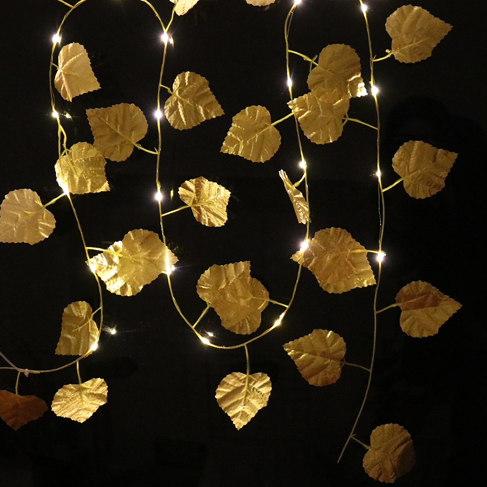2.2M Copper Wire LED String Lights Holiday Lighting Fairy Lights Christmas Garland For New Year Wedding Party Decoration