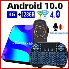 Caixa de tv android 10 smart tv box x88 pro 10 4gb 64gb 32 rockchip rk3318 4k tvbox suporte google youtube conjunto caixa superior x88pro 10.0