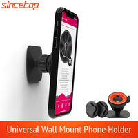 Mobile Phone Holder Stand For iPhone 11 Pro Max XR 8 SE Wall Mount Holder Adhesive Stand for Samsung Tablet Stand Quick Mount