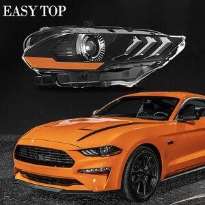 Image 1 - Smoke Turn Signal Light LED Headlights For Mustang 2018+