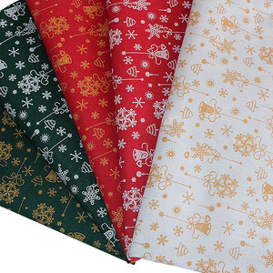 Rough Linen Polyester Fabric For Diy Tablecloth Or Sofa Cushion Christmas Decoration TJ0501