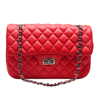 Mini Quilted Handbag Chain Designer Crossbody Bags for Women 2020 Fashion New Quality PU Leather Shoulder Messenger Bag Purse