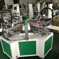 screen printing machines with rotary table 3 color