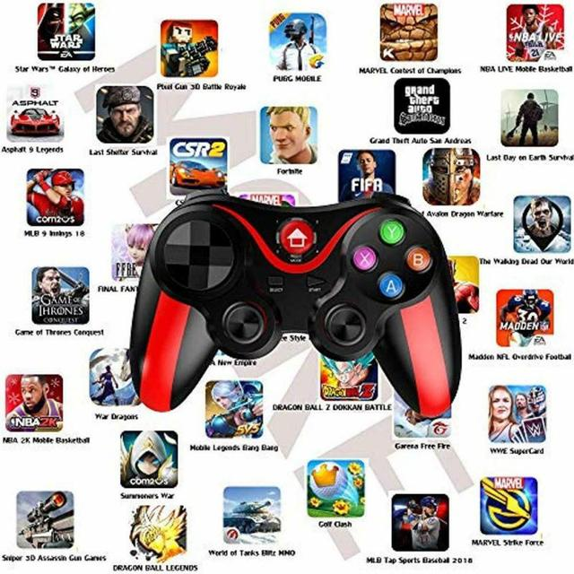 Pro Ios & Android Wireless Bluetooth Gamepad Mobile Games Controller For Pubg For IPhone HUAWEI XIAOMI Android 5