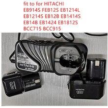 ใหม่220 240V Charger UC18YGHสำหรับHITACHI UC18YG EB914S FEB12S EB1214L EB1214S EB12B EB1414S EB14B EB1424 EB1812S BCC715 BCC915